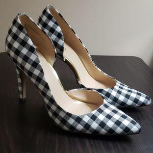 Merona black and white gorgeous heels